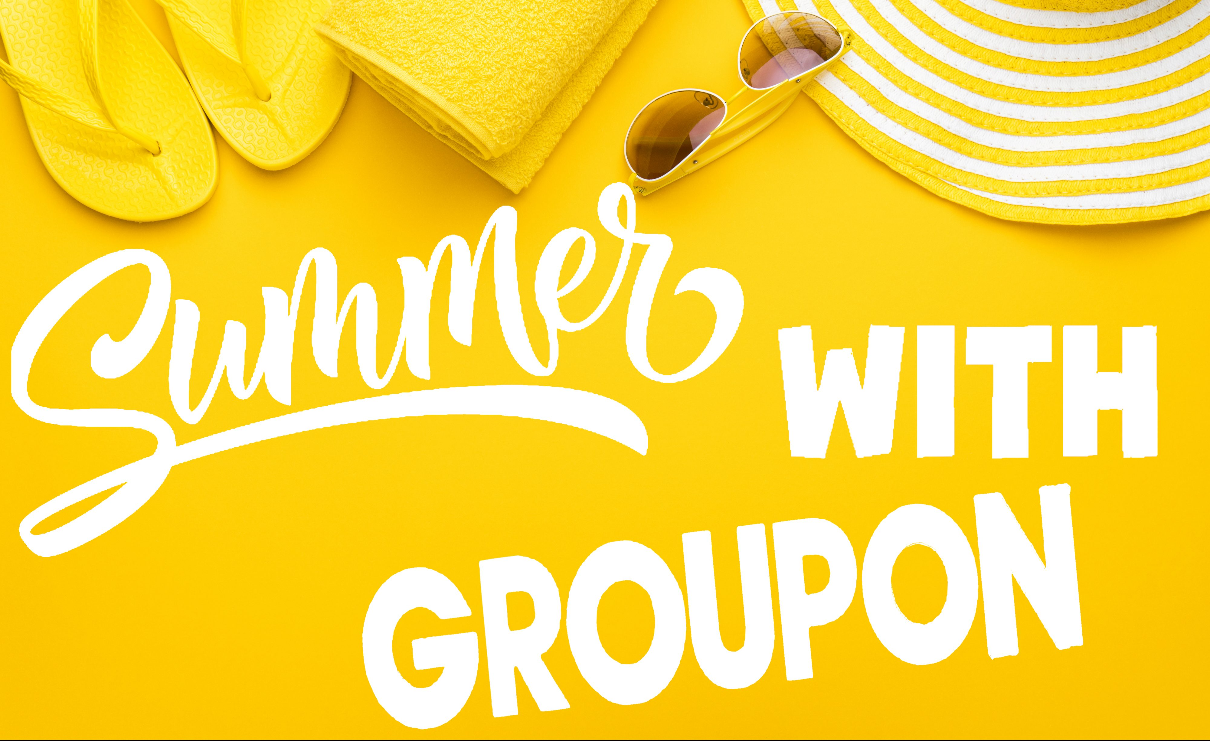 summer with groupon